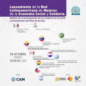 Lanzamiento de la Red Latinoamericana de Mujeres de la Economía Social